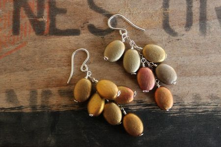 PaintedlandscapeNo2earrings